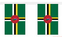 DOMINICA BUNTING - 3 METRES 10 FLAGS